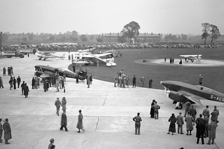Visitors and competitor aircraft at RAF Mildenhall